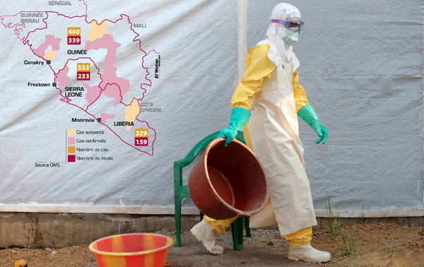 Business leaders call for greater global support against Ebola outbreak