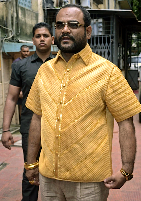 Indian millionaire splashes out over $200k on 22 carat gold shirt