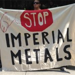 Protesters slam Imperial Metals over Mount Polley