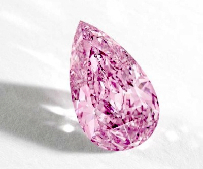 This pink diamond may become one of the most valuable gems ever sold