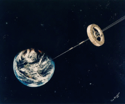 New diamond nanothreads may let scientists build space elevator