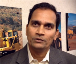 Sudhanshu Singh  product manager for large mining trucks at caterpillar