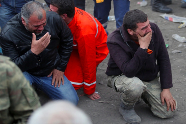 At least 23 Turkish miners trapped in coal mine after collapse