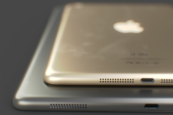 Here comes the gold iPad Air