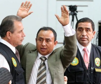 Peru's main opponent to Newmont's Conga mine wins local elections