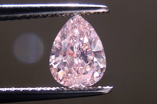 This pink diamond sold for a historic record of $18 million