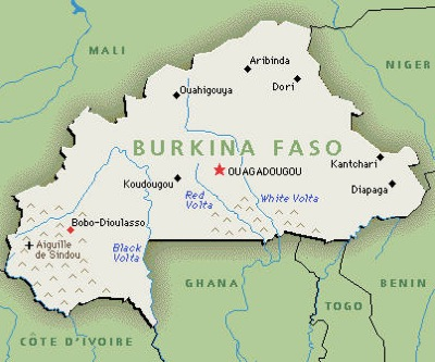Burkina Faso political upheaval affects Canadian miners' share prices