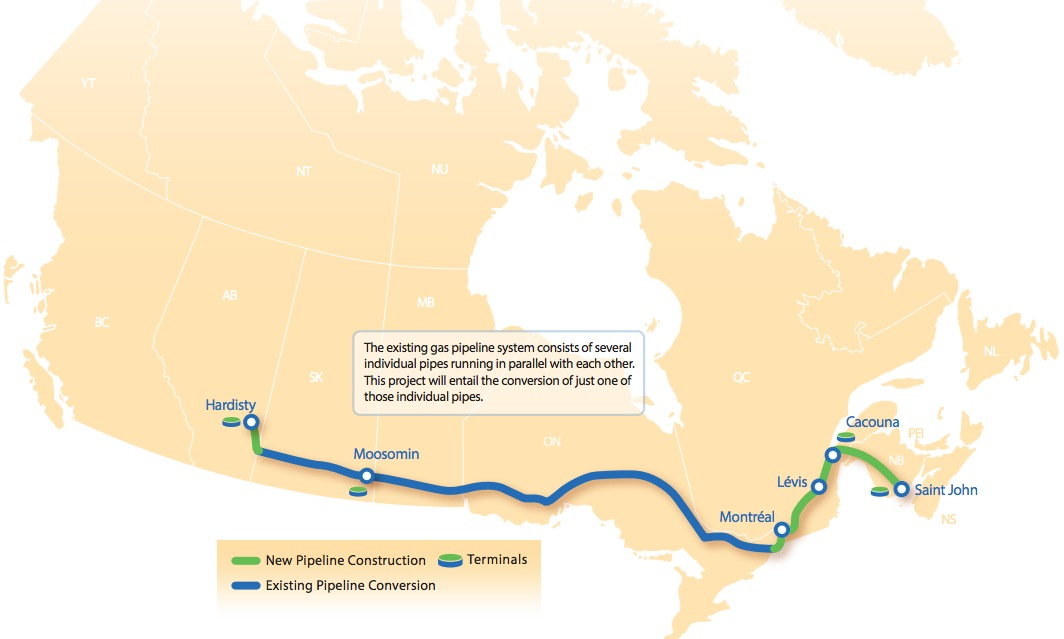 Quebec sets conditions for TransCanada as poll shows falling support for pipeline