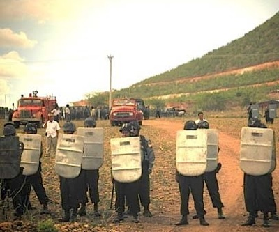 One dead, 20 hurt in protests against copper mine in Myanmar