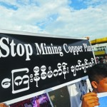 Myanmar villagers in tense standoff over China-backed copper mine