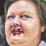 PIC OF THE DAY: Gina Rinehart is an oil painting