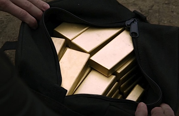 Gold bars found among Salvation Army donation in the U.S.
