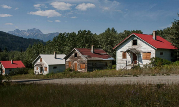 Canadian ghost mining town sold to Chinese real-estate developer