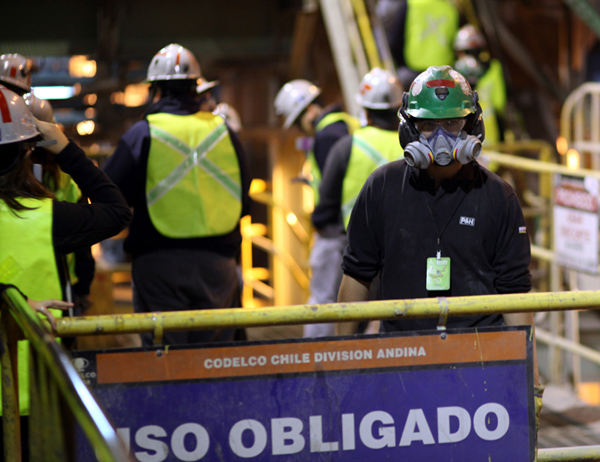 Workers at Codelco protest layoffs amid coronavirus pandemic