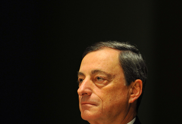 Draghi trillions launch gold price past $1,300