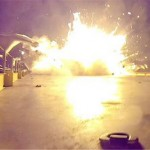 The failed landing of the SpaceX rocket was spectacular