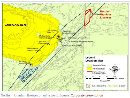 Fipke, Ulansky take uranium hunt outside the Basin - Northern Uranium licenses on mine trend.