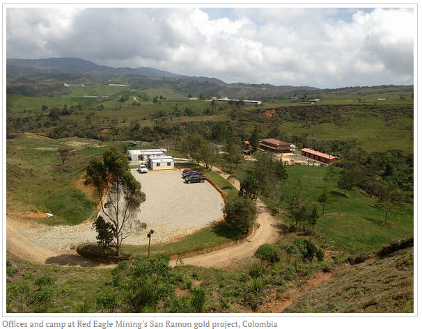 Major milestone reached for Red Eagle Mining and Colombia's gold sector