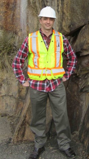 Robert Armstrong, Geologist and Associate Partner SRK Consulting (SA)