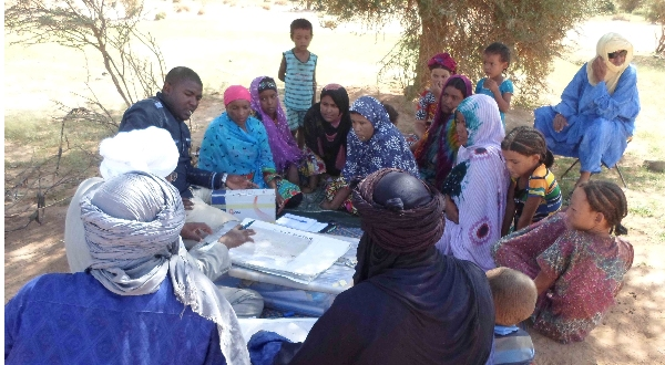 Communities need to understand their assets and strengths – a focus group with rural Touareg folk in Niger.