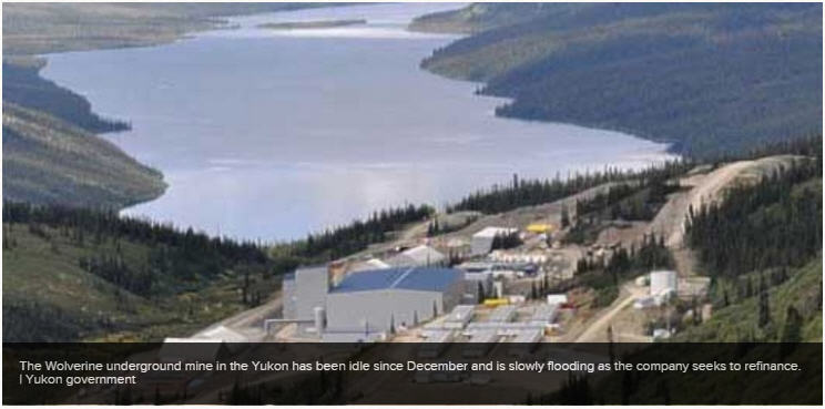 Vancouver zinc miner faces fines in Yukon - Wolverine underground mine in the Yukon