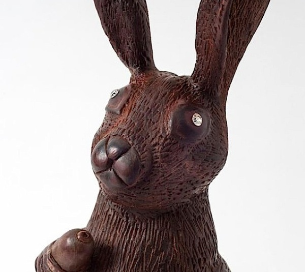 This Easter bunny has diamond eyes. Oh, yes, and it costs $49K