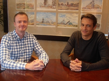 Andrew Derrick, civil engineer and Waldo Kruger, geotechnical engineer, SRK Consulting (SA)