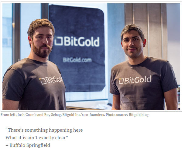 BitGold disrupts financial services