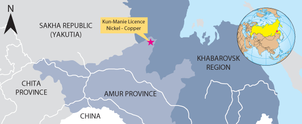 Amur Minerals rises and falls on licence to mine nickel, copper in Russia