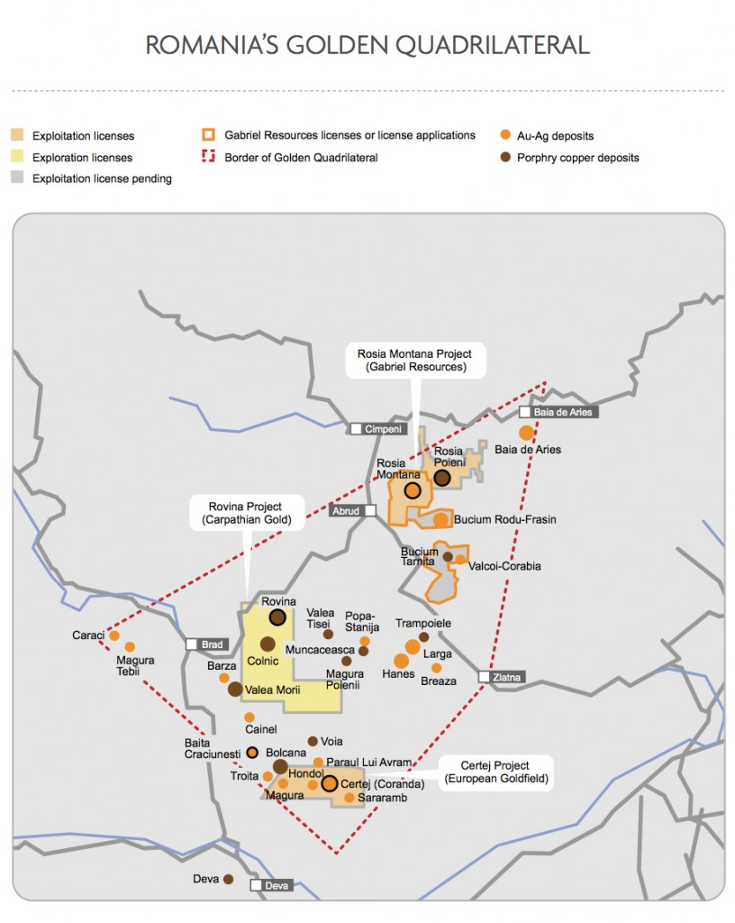 Romania opens door to new gold, copper project led by Canadians