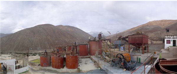 Gold toll milling in Peru - Mollehuaca Gold Processing Plant