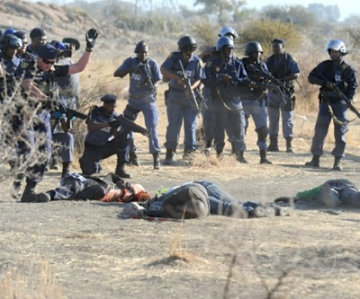 South African commission finds police to blame in Marikana deaths