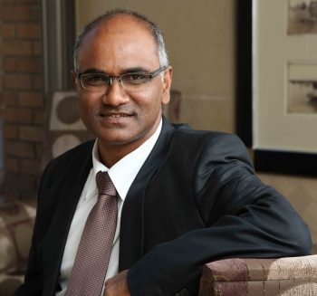 Recently appointed managing director of SRK Consulting (SA), Vis Reddy.