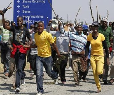 South african mining strikes 2015