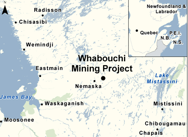 Nemaska Lithium gets go ahead for its Whabouchi mine in Quebec
