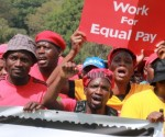 South Africa's main union rejects gold firms wage offer