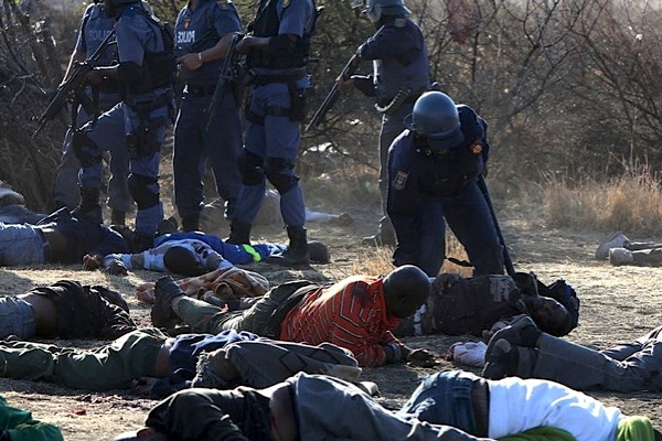 S. Africa campaigners jump all over Marikana killings report