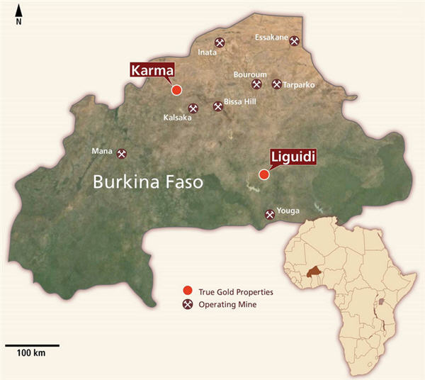 True Gold injects $14 million to its Karma gold project in Burkina Faso
