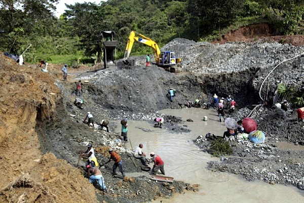 About 80% of Colombia's gold output comes from illegal miners — Gov't