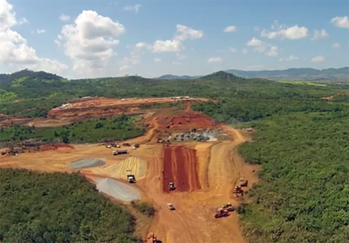 Avanco's Antos North project is located the Carajas region in northwest Brazil
