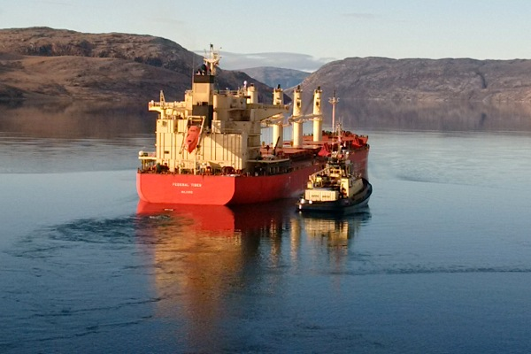 Baffinland Iron Ore ships first load from its Canada's Nunavut mine