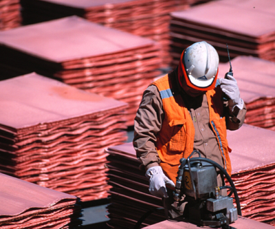 Copper down to fresh six-year low after China market falls