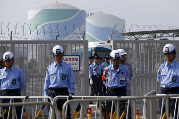 Japan resumes producing nuclear power