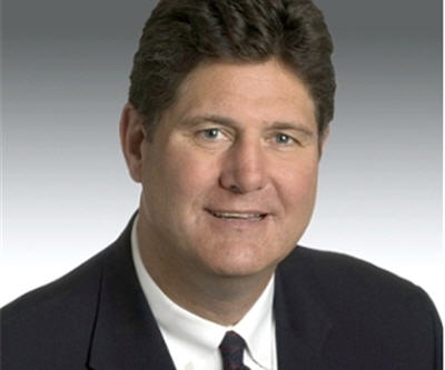 Chris Curfman, vice president of Caterpillar's Mining Sales Support Division retires