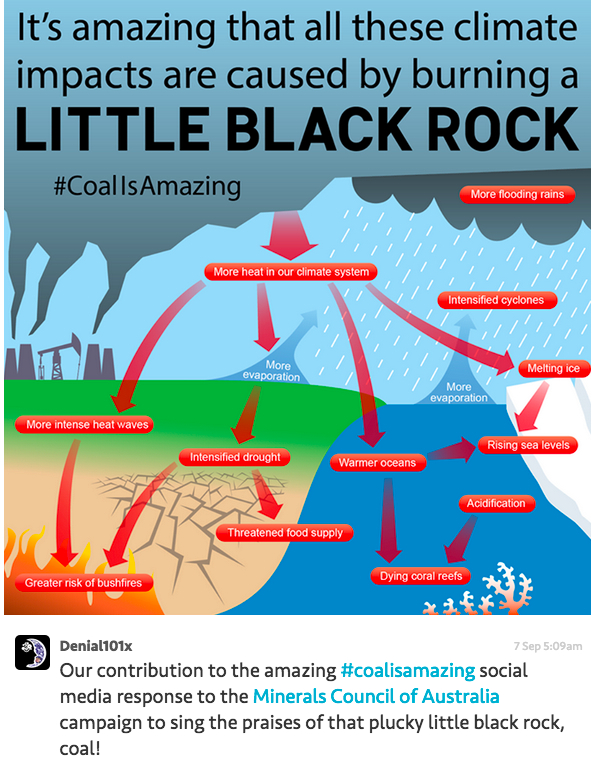 Campaign to save Australia's coal sector heavily mocked in social media