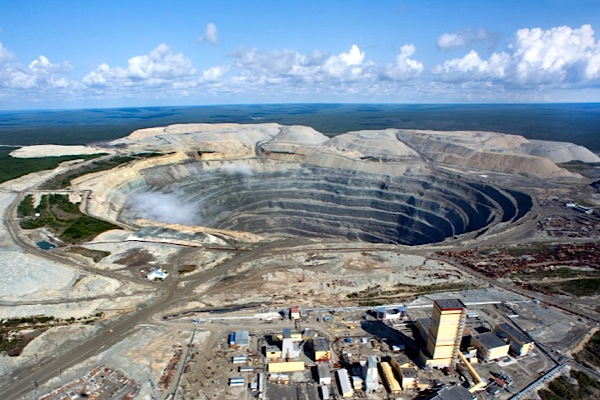 Alrosa sells less than half the diamonds mined in Q3