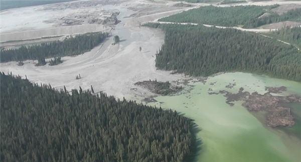 The August 2014 tailings pond breach at Imperial Metal's Mount Polley mine has cost the company over $60 million to date