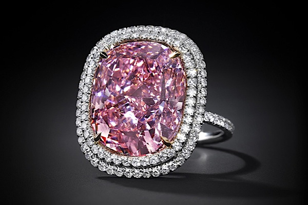 Christie's expects $28 million for this pink diamond