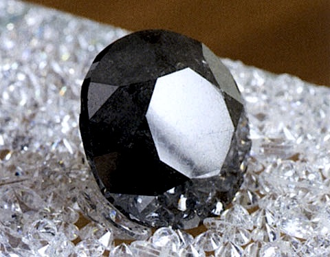 The world's largest black diamond can now be seen in Dubai