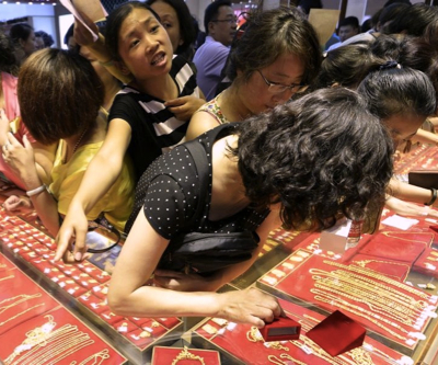 Gold price: Worries about Chinese, Indian physical demand